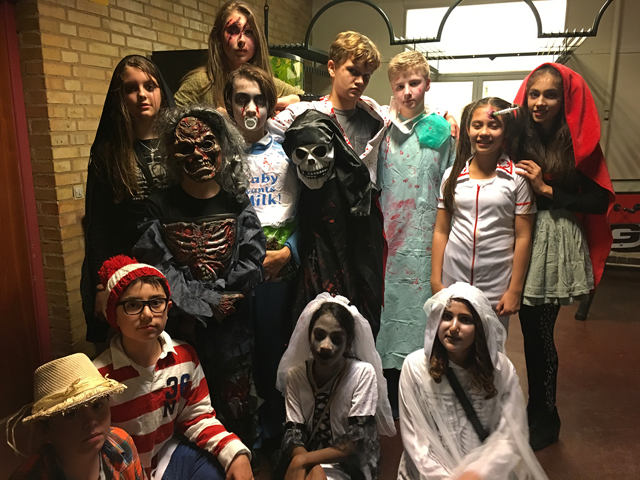 Halloweenfest for 6. og 7. klasse